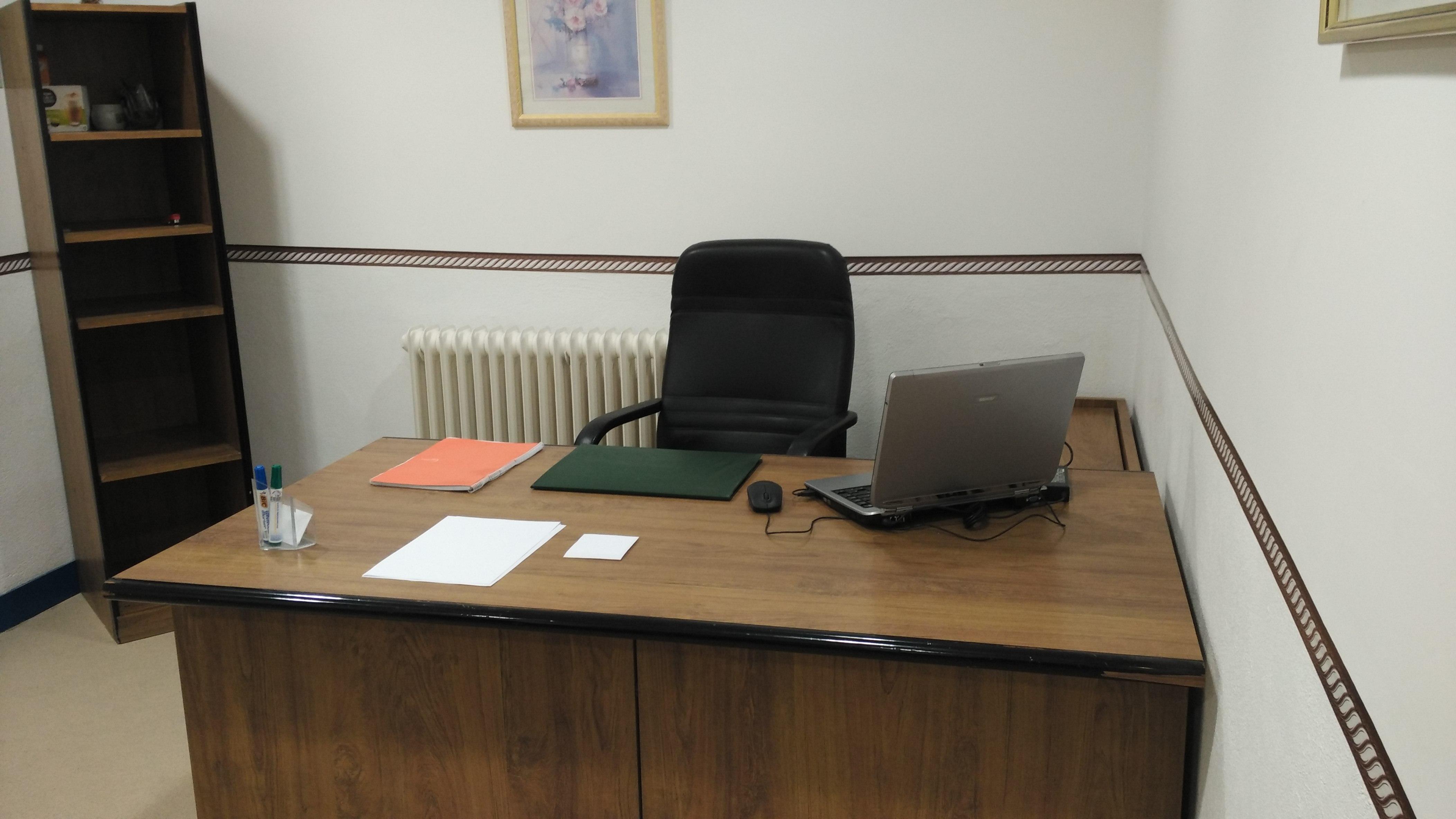 Despacho alquilado por horas